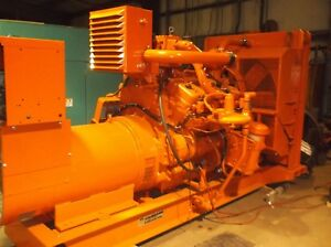Waukesha 300 Kw Natural Gas Generator Set W 337 Hours