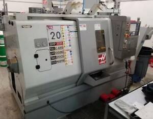Used 2008 Haas Sl 20t Live Tool Cnc Turning Center Lathe Full C Axis Tailstock