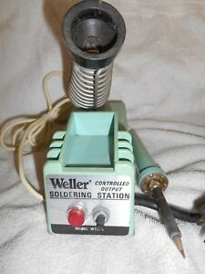 Weller Wtcp Controlled Output Soldering Station Pre Owned And Working Well