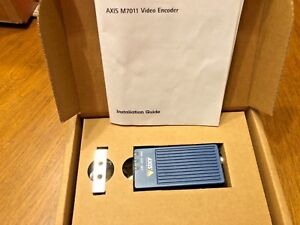 Axis M7011 Video Encoder Video Server 0764 001 Cctv Analog To Ip New Fact S 2