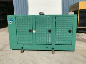 _175 Kw Cummins Onan Generator Set 12 Lead Base Fuel Tank 1 3 Phase