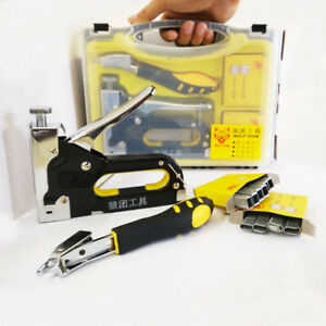 Nail Staple Gun With Puller Staple Remover Stapler For Wood Furniture Uphol