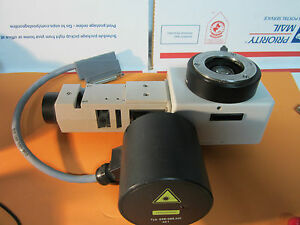Microscope Part Leitz Wetzlar Laserstrahl Optics Germany Bin 16