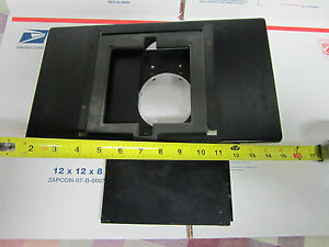 Optical Microscope Part Zeiss Germany Huge Wafer Inspection Stage Optics Bin 19