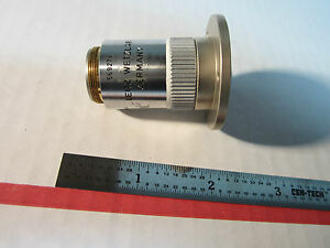 Leitz Wetzlar Germany Microscope Objective 100x Fluotar Optics Bin a1 06