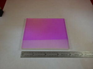 Optical Dichroic Coated Bk7 Glass Mirror Laser Optics As Is x1 a 01