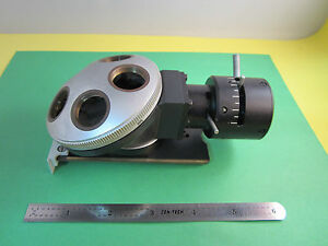 Microscope Part Leitz Wetzlar Germany Nosepiece 1x Ortholux Optics Bin a7
