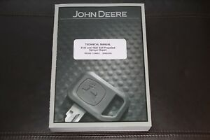 John Deere 4730 4830 Self propelled Sprayer Service Repair Manual Tm2368