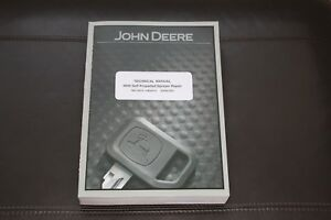 John Deere 4940 Self propelled Sprayer Service Repair Manual Tm113619