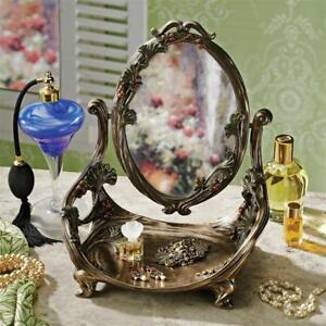 Guimard Art Nouveau Vanity Table Mirror With Stand