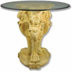 Lion Leg Table Base 33 Architectural Tables Table Bases
