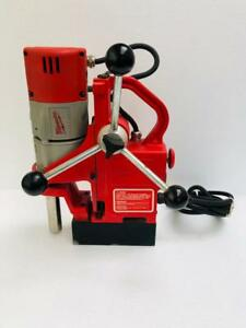 Milwaukee 4270 20 Compact Electromagnetic Drill Press 9 Amp 120 V 1