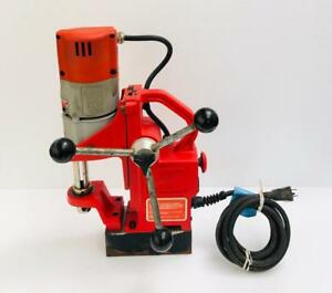 Milwaukee 4270 20 Compact Electromagnetic Drill Press 9 Amp 120 V 2