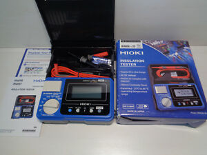 Hioki Ir4056 20 5 range 50 To 1000v Digital Insulation Resistance Tester New