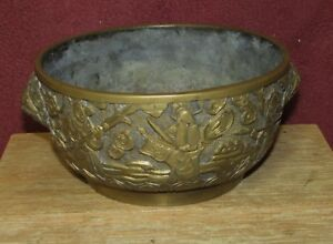 Antique Chinese Bronze Censer Signed