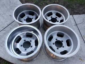 Vintage Retro Slot Mag Wheels 15x10 Americam Racing Indy Western Appliance Style