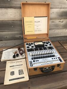 Rare Vintage Tube Master precision Tube And Battery Tester Series 10 12