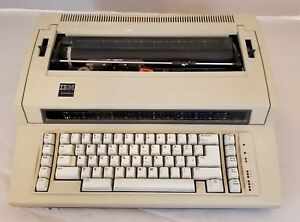 Ibm 6715 001 Actionwriter 1 Electric Typewriter Made In Germany
