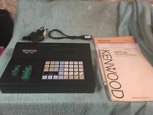 Kenwood Kpt 20 Programmer With Intruction Book Programming Cable And Power Cord