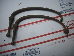 1928 1929 Ford Model A Cast Rear Fender Braces Coupe Pickup Roadster Rpu 28 29