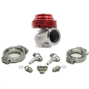 Tial Mvs r Universal 38mm V band External Wastegate Red With Springs
