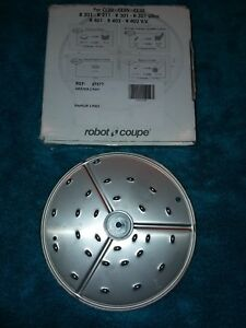 Robot Coupe Food Processor Blade disc Rg2 R2 27577 Medium Grating Cl20 R 201