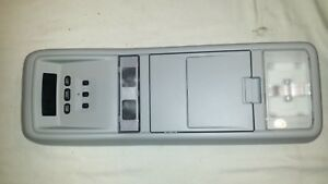03 11 Crown Vic Town Car Grand Marquis Overhead Console Long W Homelink Gray