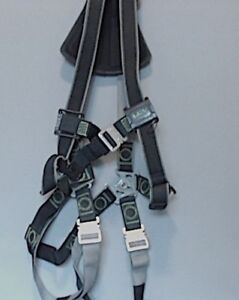 Miller Revolution Dualtech Webbing Full Body Safety Harness