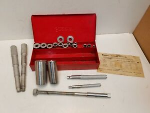 Vintage Snap On Tools A 57 Bushing Driver Set Tools In Metal Case Free Shipping