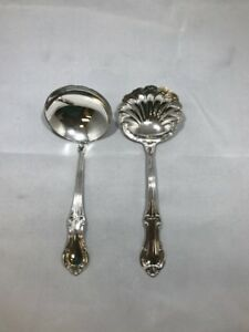 International Sterling Silver Joan Of Arc Gravy And Cream Ladle 6 5 In