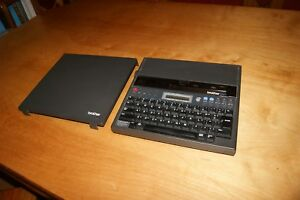 Brother Ep43 Portable Electronic Word Processor Typewriter