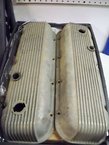 Chevelle Corvette Camaro Nova 396 427 454 Used Cal Custom Valve Covers 40 2100