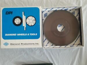 6 Inch Diamond Grinding Wheel d1a1 6 X 250 X 1 25 400 Grit Surface