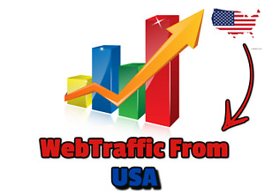 Web Traffic From Usa 150 000 Unique Real Hits To You Website From Usa