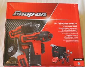 Snap On Cordless 14 4v Impact Wrench Screwdriver Light Cooler Ck761silcool