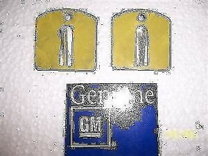 Door Body Side Molding Clips 2 Nos Gm 1978 1987 El Camino Malibu Gs1480