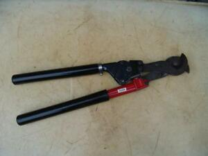 Hk Porter Ratcheting Cable Wire Cutter Model 8690fs Works Fine