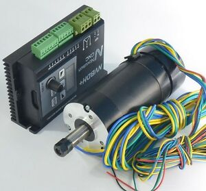 Cnc Machine 400w Bl Spindle Motor brushless Dc Motor Driver 12000rpm Er8