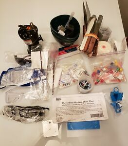 Dental Lab And Clinical Supplies torch Rubber Bowls Spatulas Endo Files Etc