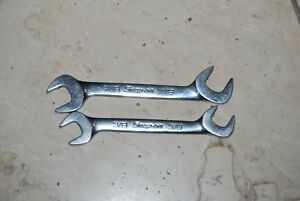 Snap On Set Of 2 Governor Gap Lock Nut Detroit Diesel 4 Way Wrench Set