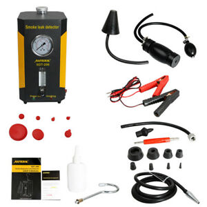 Autool Sdt 206 Smoke Leak Detector Auto Smoke Tester Tool For Cars motorcycles