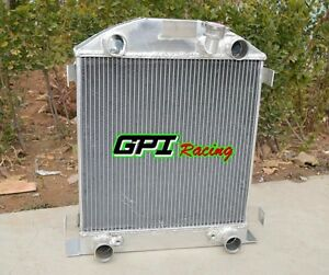 62mm Aluminum Radiator For Ford Model A W Flathead Engine 1928 1929 28 29 At Mt