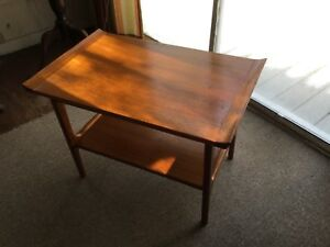 Mid Century Modern Mcm End Table Made In Japan Vintage Antique
