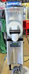 Bunn Gourmet Single Slushy Machine Frozen Drink Machine Margarita Machine