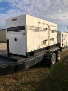 Multiquip Dca300sscu 240kw Portable Diesel Generator load Bank Tested Tier 3