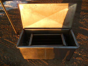 Beekeeping Continuous Flow Honey Heater stainless Steel With Fill Valve