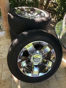 4 New Wheels And Tires 20 Inch Oem Chevrolet Tahoe Silverado New Take Offs