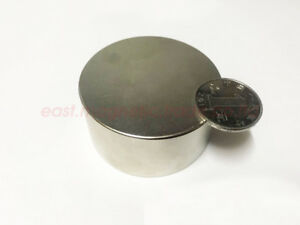 Large 60mm X 30mm Super Strong Disc Round Rare earth Neodymium Magnets N50