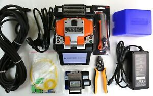 Sumitomo Type 71c Sm Mm Fiber Fusion Splicer Arc Only 572 With Cleaver Fc 6rs