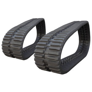 Pair Of Prowler Rubber Tracks For John Deere Ct322 At Tread 400x86x52 16